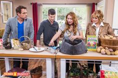 "RERUN ON HOME & FAMILY SHOW, Tuesday, August 19 12PM PST ""Grow Potatoes in a Bag!""  More details: http://foodiegardener.com/how-to-grow-potatoes-in-a-bag/"