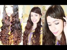 Gift Wrapper Curls Method 3: Quick and Easy Back to School Hairstyles (SNSD Inspired)