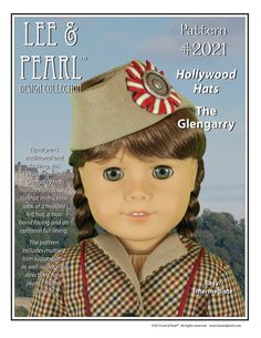 L&P Pattern 2021  The Glengarry Hollywood Hats by leeandpearl, $3.99