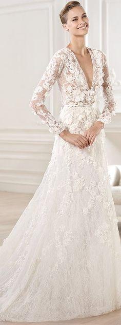 Pronovias Wedding Dress - 2014 Elie By Elie Saab - CRUX (Style 2/10)