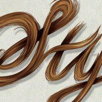 Create a Stylish, Vector Hair Typography Illustration
