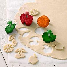 Summer Harvest Piecrust Cutters #williamssonoma