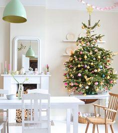 Add color to a neutral space. #christmasdiy #holidaydiy