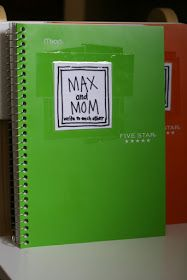 Mom & child journals