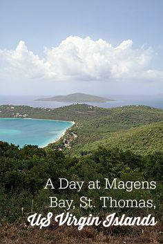 Magens Bay in St. Thomas - the US Virgin Islands
