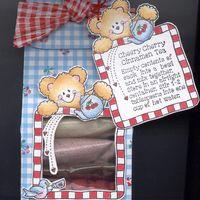 Item #1376 · Gift Bags · Heart Prints