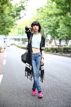 ストリートスナップ原宿 - yuiarimaさん - ACNE STUDIOS, my panda, TOPSHOP, UNIF, Vivienne Westwood, アクネストゥディオズ, トップショップ, マイパンダ, ユニフ, ヴィヴィアンウエストウッド