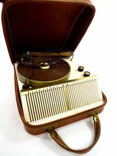 Vintage Firestone Portable Record Player