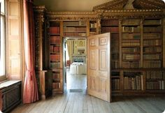 Downton Abbey (Highclere Castle) Library...if only this were in the area!