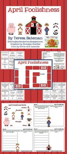 Sharing Kindergarten April Fool Freebie!