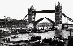 The official opening of Tower Bridge on June 30, 1894
