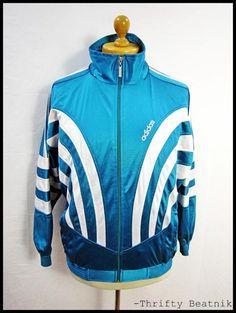 Old School adidas track jacket