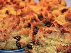 yum. gluten free, dairy free, sugar free pumpkin muffins.