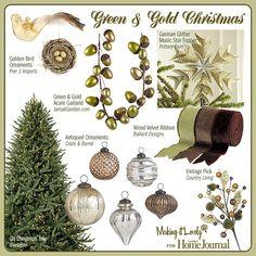 Green & Gold Christmas