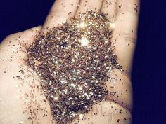 DIY edible glitter.