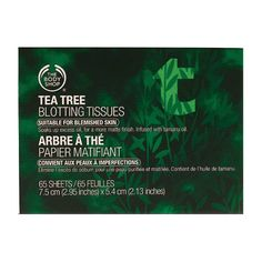 The Body Shop Tea Tree Bloating Paper