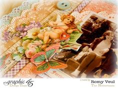 The great details on Romy's Sweet Sentiments layout #graphic45