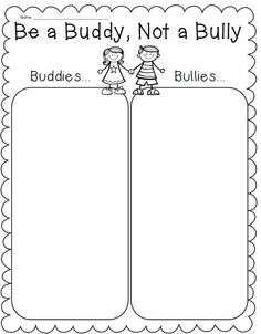 Printables Bullying Worksheet free bullying worksheets for first grade html am joining up with activities on pinterest