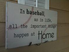 baseball home decor, love quotes baseball, exciting future quotes, hanging baseball signs, basebal sign, quotes about baseball, vintage baseball decor, baseball inspirational quotes, baseball ideas
