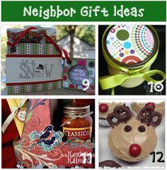 Cheap Neighbor Christmas Gift Ideas {homemade}
