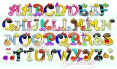 Embroidery Designs - Pretty Princess Alphabet Embroidery Font - 3 sizes - Welcome to Lynnie Pinnie.com! Instant download and free applique machine embroidery designs in PES, HUS, JEF, DST, EXP, VIP, XXX AND ART formats.