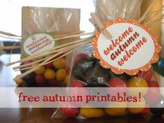 Nice Free Autumn Printables.