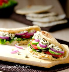 Greek Pita Sandwich For The Daniel Fast omit honey and use the recipe for chapattis or indian flat bread recipe found on The Daniel Fast site.