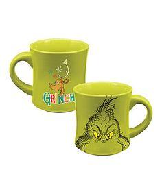 Another great find on #zulily! Grinch Ceramic Mug #zulilyfinds