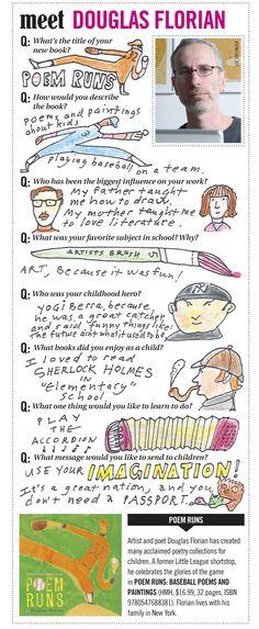 Meet Douglas Florian   BookPage