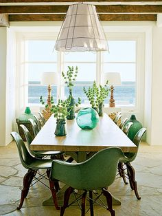 Prince Charles Chair by Modernica. Photo from Coastal Living Magazine March 2010