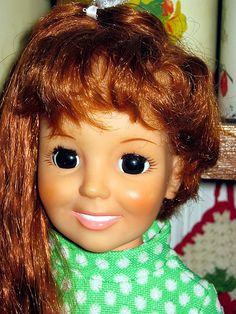 """I loved this doll!!! Her hair would """"grow""""!"""