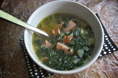 Portuguese Kale & Potato Soup recipe