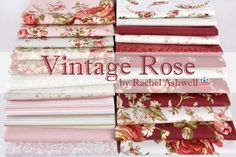 Vintage Rose by Rachel Ashwell for Treasures by Shabby Chic