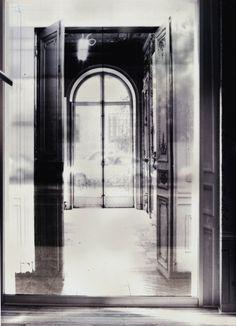 Maison Martin Margiela's former premises in Paris printed on transparent films