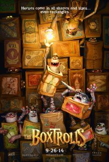 The Boxtrolls based on Here Be Monsters! by Alan Snow.