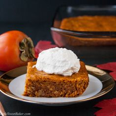 PERSIMMON PUDDING CA
