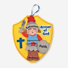 """Armor Of God"" Craft Kit - OrientalTrading.com"