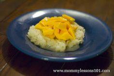 Thai Sticky mango rice