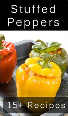 18 Ways To Make Stuffed Peppers