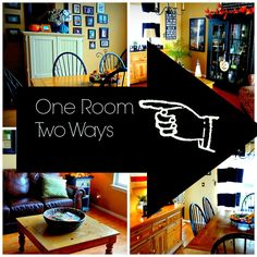 How to stage one room, two different ways!