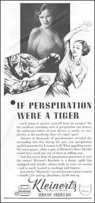1930s:  The Personal Hygiene Tiger