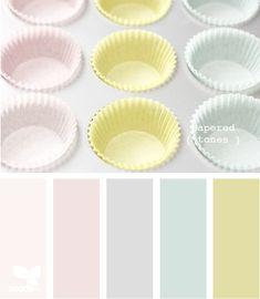 papered tones  Color Palette - Paint Inspiration- Paint Colors- Paint Palette- Color- Design Inspiration