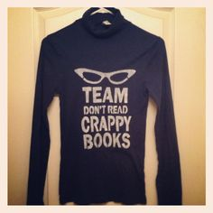 Team Don't Read Crappy books