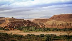 Ksar Ait Benhaddou in October. The location for many films including Gladiator.
