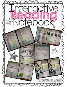 Interactive Reading Notebook !