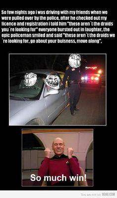 Epic policeman