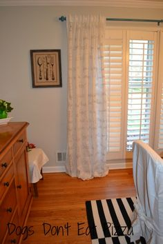 finished curtains...yum!!!