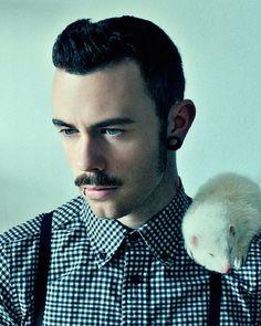 Real men love ferrets - matthew brindle