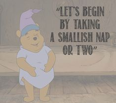 Pooh knows my life.