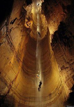 Krubera Cave - The deepest known cave on earth...